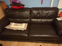 Very good quality 3 seater sofa for sale ( soft premium leather )