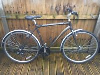 Raleigh Pioneer Mens Hybrid Bike