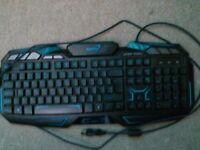 gaming keyboard used but works well only £5