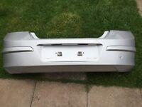 Astra h rear bumper