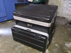 Gator GRC-10X4 Moulded Side Console Rack Case 10U Top, 4U Side