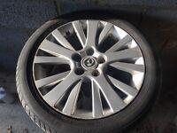 Original Mazda 6 alloy wheels 5x114.3 fits more Japanese cars