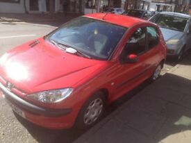 Peugeot 206 1.2 petrol 3 owners (quick sale)