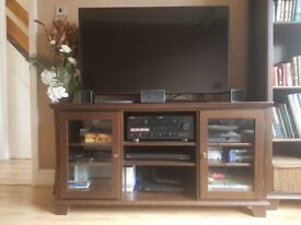 Ikea Tv Cabinet and Tall Book Shelf