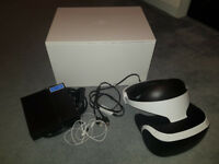 PLAYSTATION VR HEADSET - PS4 PLAYSTATION 4 PS4 PRO - BARGAIN - MIN CONDITION
