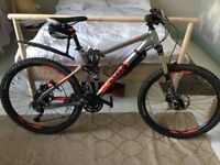 Voodoo Canzo full suspension men's mountain bike - barely used!