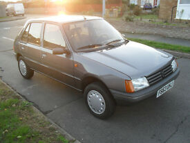 CLASSIC LHD PEUGEOT 205 1.6 PETROL 4 DOOR 4 SPEED AUTOMATIC AUTO LEFT HAND DRIVE 11 MONTHS MOT