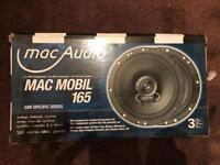 Brand new 3 x sets of MaC Audio 6.5 inch speakers