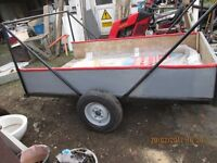 TRAILER ... light weight...single axel mini wheels...7.6 X 5 .0