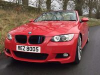 2007 BMW 325i M SPORT Convertible, over £5000 of extras , trade in considered, credit cards accepted