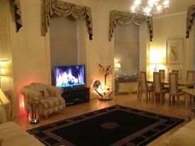1 bed flat -apartment fully furnished parking with wifi central riverside location