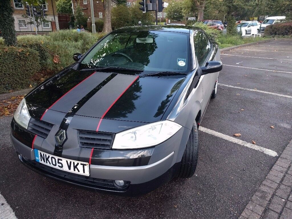 Renault Megane Convertible, good working order, 38200 miles, vinyl wrapped (removable), £2000 ono