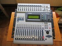 Yamaha 01V digital mixing console.