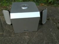 Dell A525 - 2+ 1 speaker system. Works great with TV, Phone, Tablet, PC etc. Excellent condition