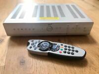 Sky Plus Box 80GB satellite receiver and remote