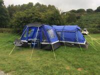 Kalahari 8 tent, porch and footprint groundsheet - brilliant family tent!