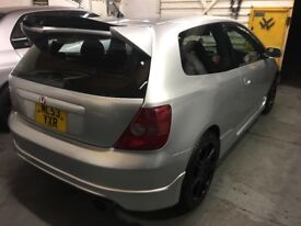 Price drop Honda Civic type R EP3 silver