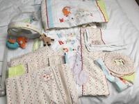 Humphrey's Corner Nursery bedding