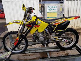 06 Suzuki RM250, just had £500 gearbox rebuild.