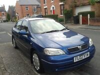 Very low mileage Vauxhall Astra 1.6 for sale