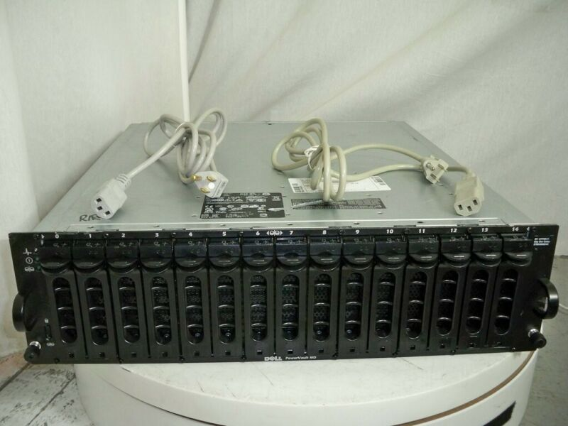 DELL PowerVault MD1000 AMP01 SAS HDD Storage Array