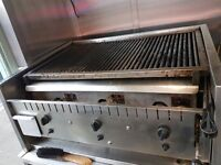 Excellent condition 3 burners Arckway commercial grill for sale
