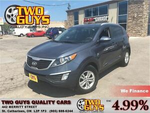 2013 Kia Sportage LX HEATED FRONT SEATS SATELLITE RADIO SIRIUS