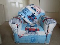 Thomas the tank engine kids armchair with cushion