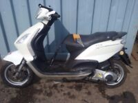 Piaggio fly 125 spare parts sell complete