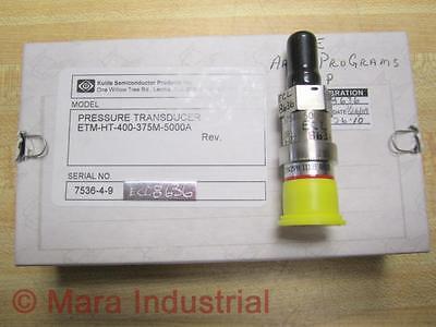 Kulite Semiconductor Etm-ht-400-375m-5000a Pressure Transducer 67mo8374-02