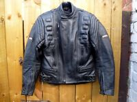 Akito motorbike jacket with body Armour CE Protection, mint condition, size UK 38