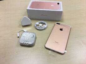 Rose Gold Apple iPhone 7 Plus 32GB Unlocked Mobile Phone Like New - Premium Grade + Warranty