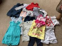 Baby girl bundle of 3-6 months clothes
