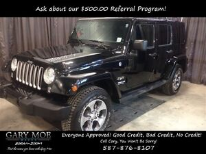 2016 Jeep WRANGLER UNLIMITED Sahara 4x4 ** One Owner** **Leather