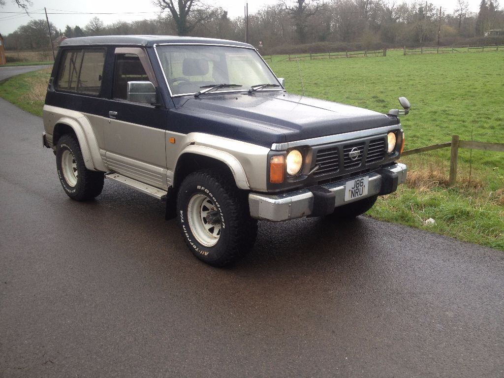 nissan patrol y60 swb td42 auto rare 24v safari import mot 39 d drive away low miles in reading. Black Bedroom Furniture Sets. Home Design Ideas