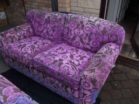 Two designer sofa's good condition