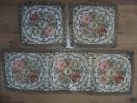 Table runner and mats, 3 piece, Unused