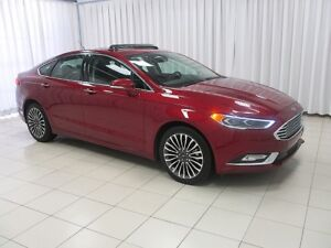 2017 Ford Fusion SE. LOADED AWD SEDAN !!  w/ NAVIGATION SYSTEM,