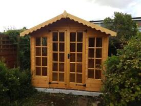 6x10 SUMMER HOUSE £1019.00 HEAVY DUTY T&G (FREE DELIVERY AND INSTALLATION)