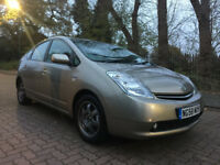 2009 TOYOTA PRIUS T4 1.5 VVTi HYBRID/PETROL WITH A PCO LICENCE BADGE