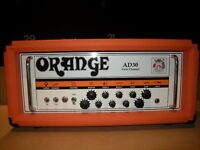 Orange AD30 HTC, 30W All-Valve Guitar Amplifier Head