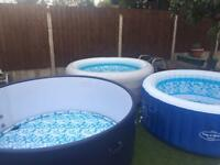 Hot Tub. Ben's bubbles from £60