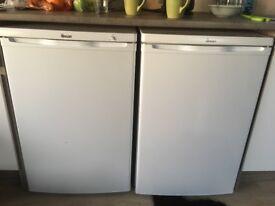 Under counter Fridge and matching Freezer SWAN