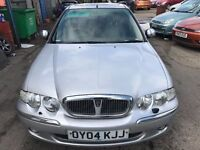 2004 Rover 45 Connoisseur Stunning Condition 1 years MOT (runs out December 2017)