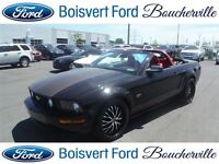 2007 Ford Mustang GT CONVERTIBLE  GPS MANUELLE 5 VIT