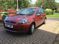 Immaculate Condition FORD FIESTA STYLE CLIMATE ** 1YEAR MOT **REGISTERED 2008 ** 5 DOOR** LOW MILES