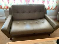 G-Plan The Sixty Five 2 seater leather sofa