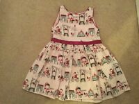 M&S GIRLS DRESS, AGE 3-4. IMMACULATE CONDITION.