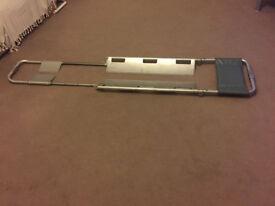 Aluminium folding scoop stretcher