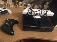 Xbox 360 with Kinect and extras